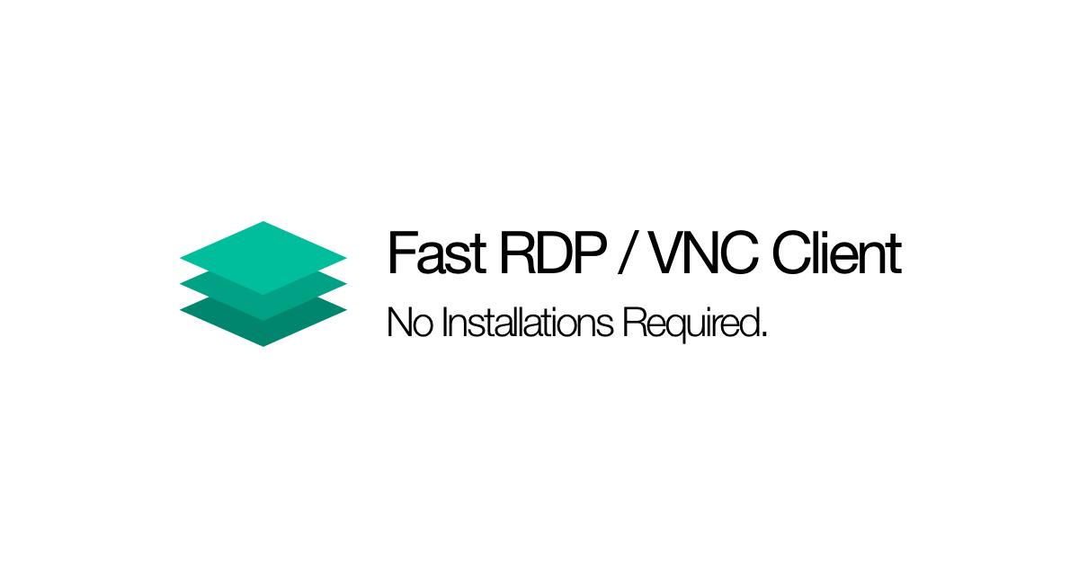 Online Remote Desktop Client | Online VNC and RDP client | All My